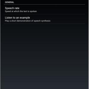 Text-to-Speech dispose désormais de son application sur le Play Store