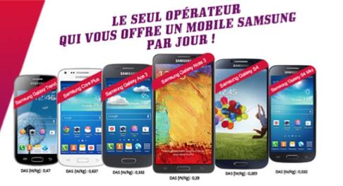 Virgin Mobile lance un jeu concours : un mobile Samsung par jour à gagner