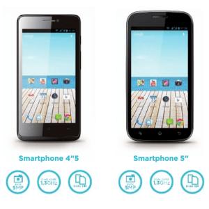 Auchan lance sous sa marque Qilive des smartphones et tablettes Archos