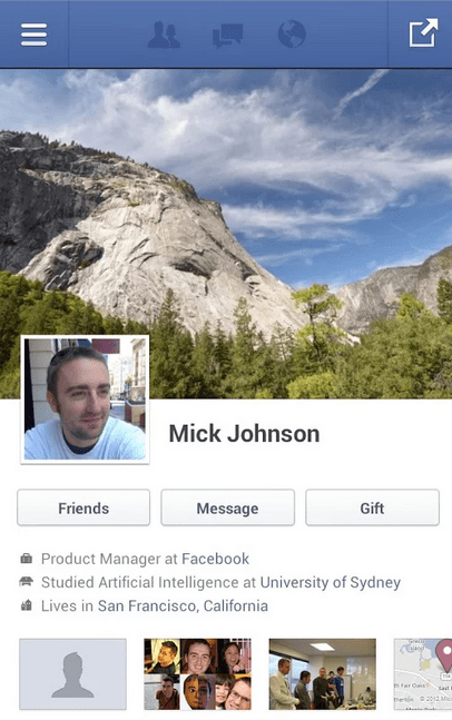 Facebook : un nouveau design pour son application mobile en test ?