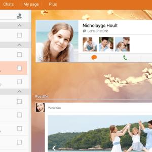 Après Hangouts, ChatON intègre les SMS et MMS à son application Android