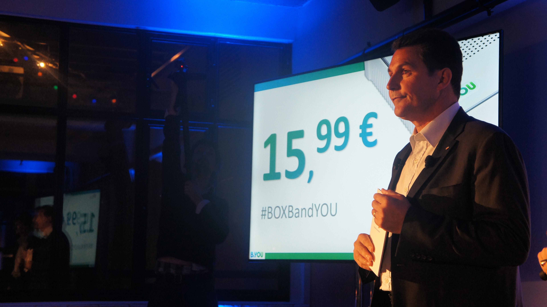 B&YOU lance son offre Box Internet et téléphone à 15,99 euros par mois