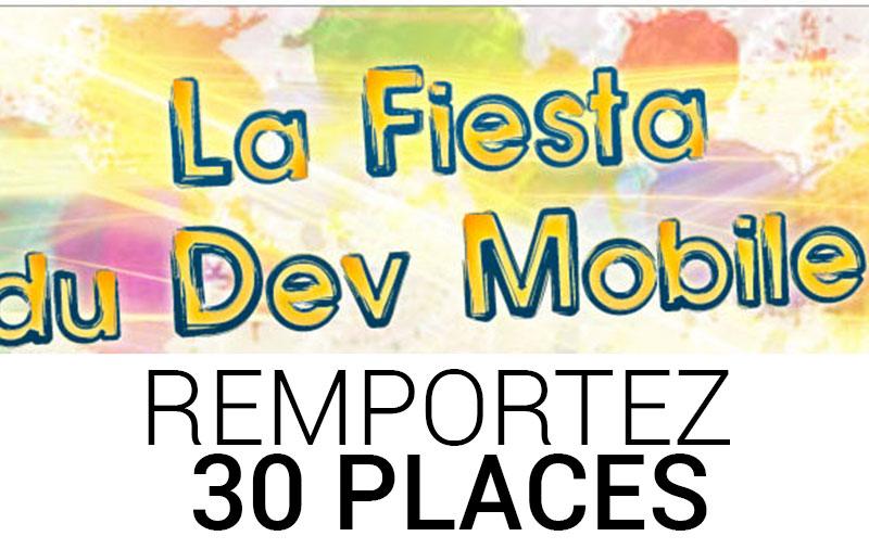 La Fiesta du Dev Mobile : Gagnez 30 places sur FrAndroid