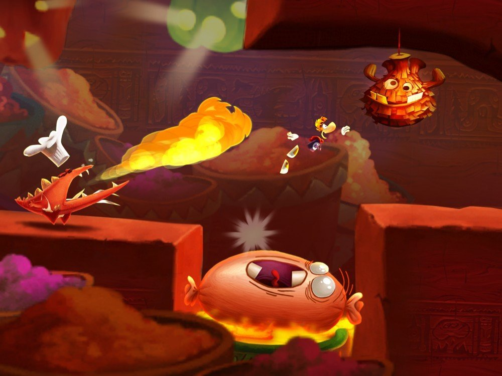 Rayman Fiesta Run : disponible sur le Play Store pour 2,69 euros