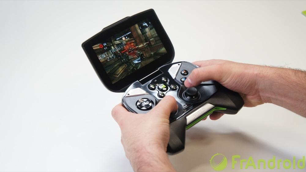 La Nvidia Shield se met à jour et améliore la définition de l'écran en Gamestream