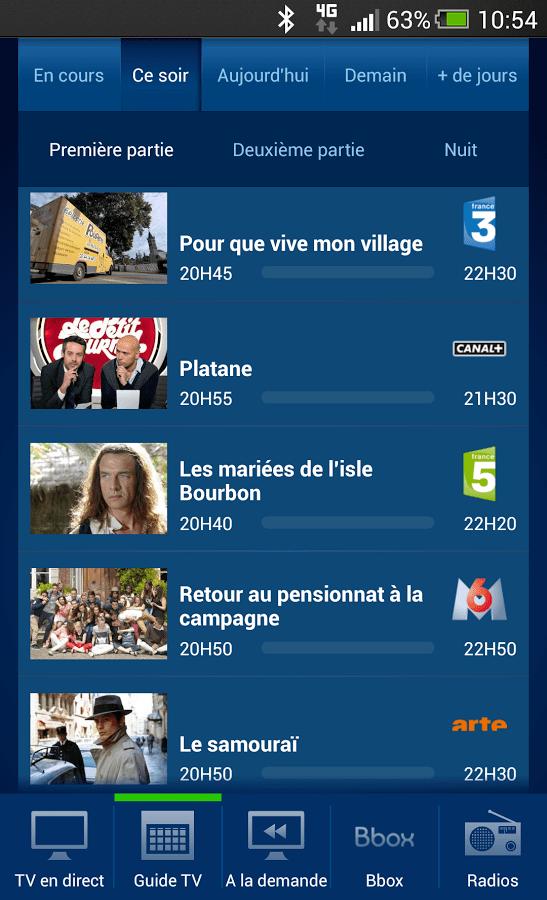 Les applications B.tv pour Android apportent un second écran aux Bbox de Bouygues