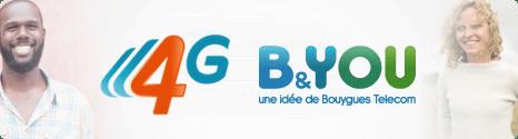 B&YOU : La 4G avant Noël !