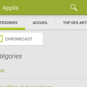 Chromecast : Google encourage les développeurs en créant une section spéciale sur le Play Store