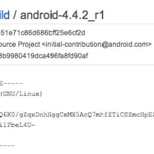 Le changelog d'Android 4.4.2 résout déjà la faille liée aux attaques de SMS Flash