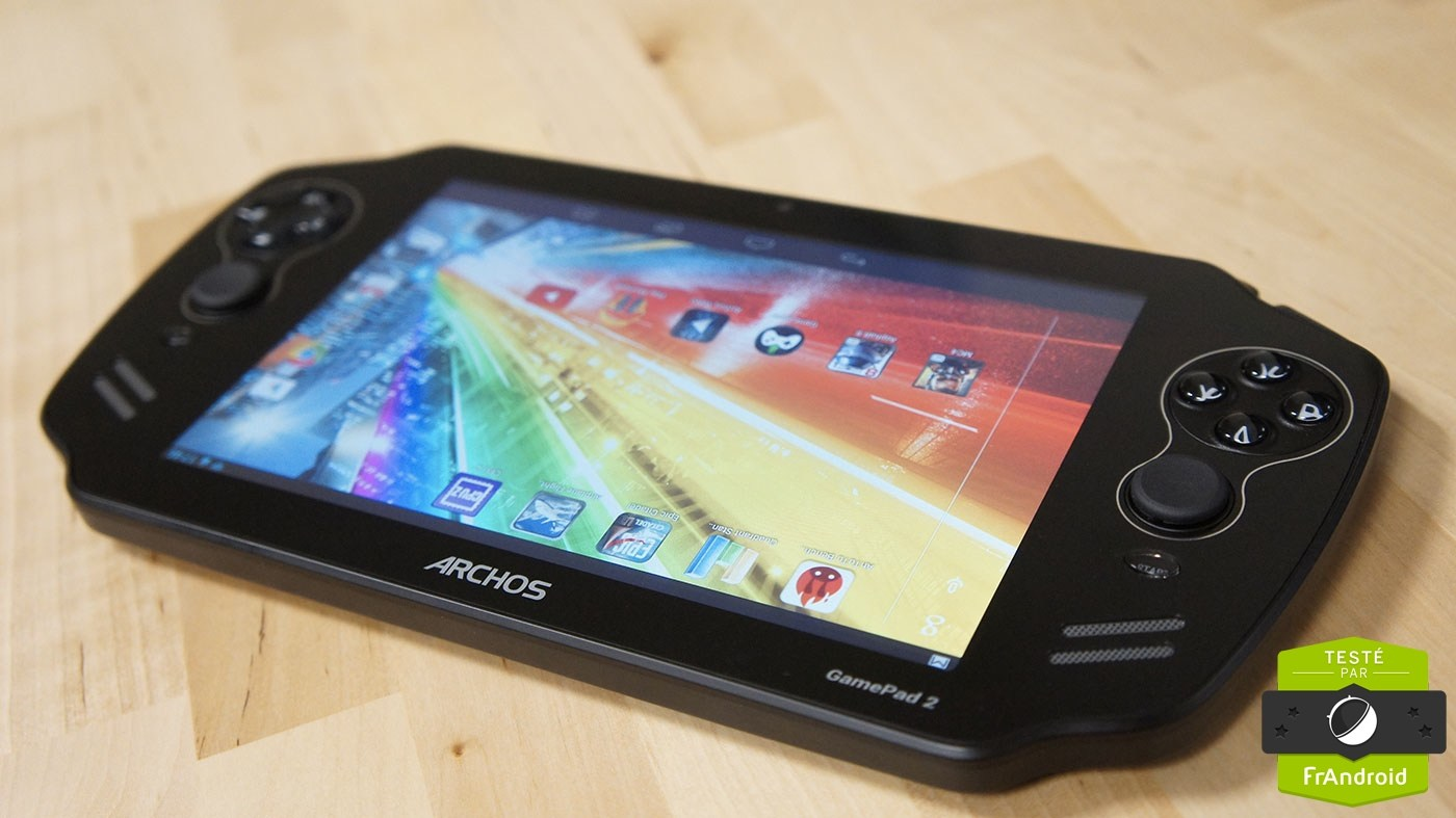 Test du GamePad 2 : une seconde tablette-console d'Archos en version améliorée
