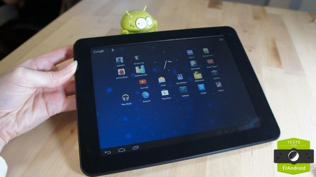 Test de la Primo 8 : une tablette très low-cost par Thomson
