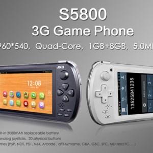 JXD dévoile sa S5800, une console/smartphone sous Android