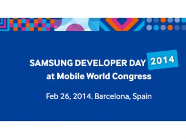 Le premier Samsung Developer Day 2014 aura lieu le 26 février à Barcelone