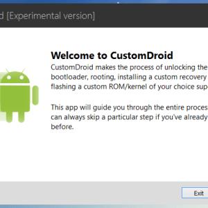 CustomDroid «Alpha» : un nouveau logiciel pour installer des ROM Custom