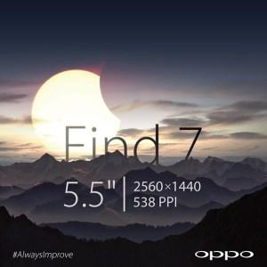 538 PPP pour un écran de smartphone, la promesse de l'Oppo Find 7