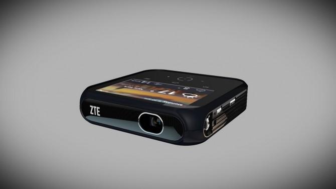 ZTE Projector Hotspot : un hotspot LTE… avec un picoprojecteur sur Android