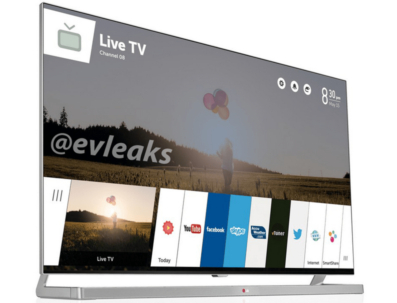 webOS chez LG sera synonyme de Smart TV