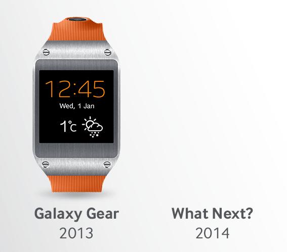 Verra-t-on une Galaxy Gear 2 dès le CES 2014 ?