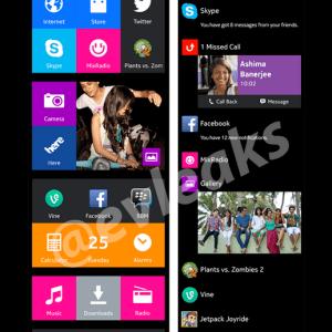 L'interface du Nokia Normandy sera-t-elle un mélange d'Android et de Windows Phone ?