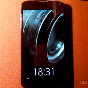 Sailfish OS sur un Nexus 4, c'est possible