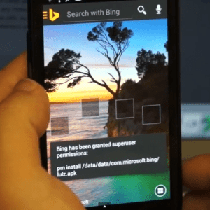 L'application Bing, porte ouverte aux hacks express !