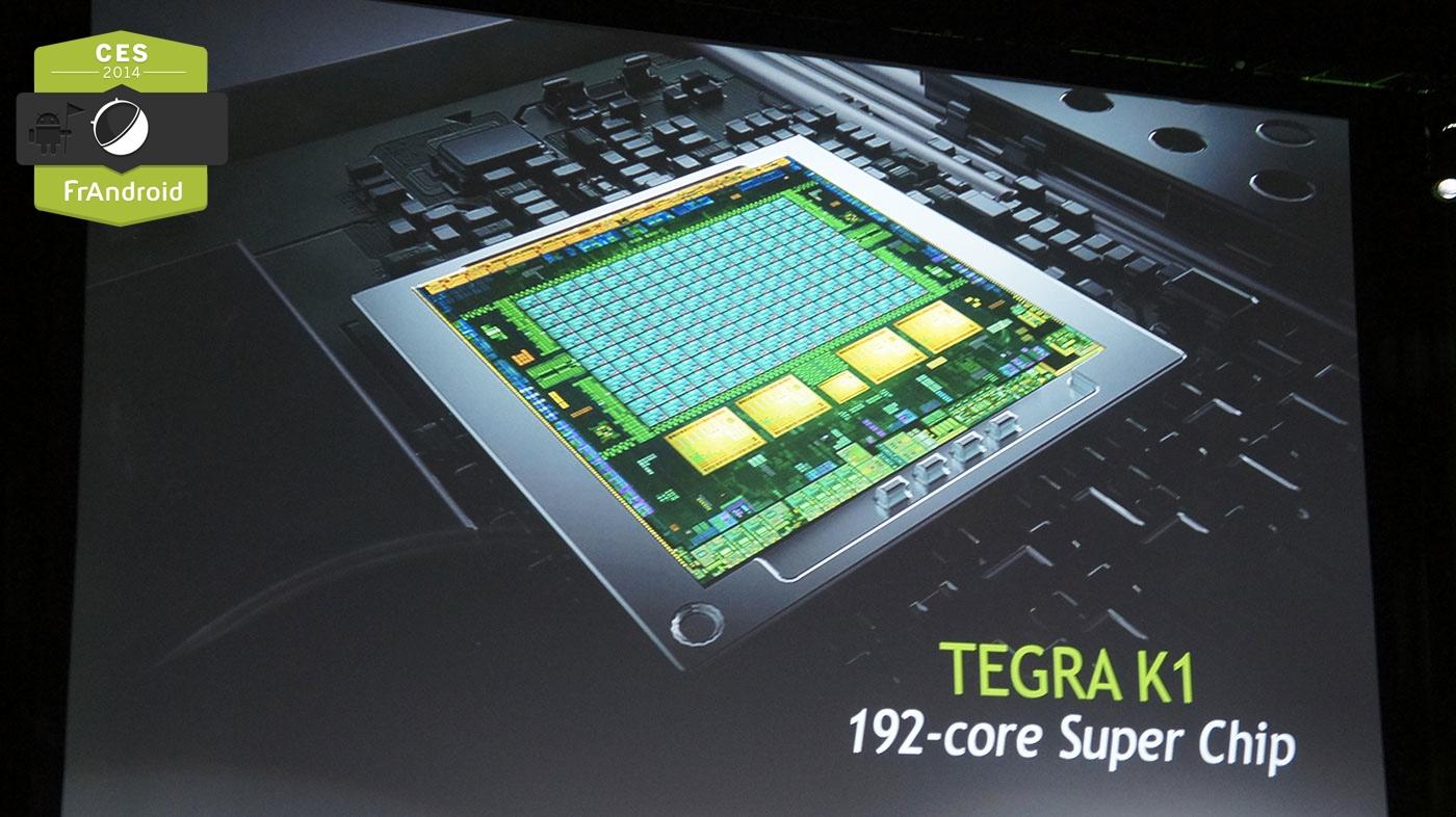 Nvidia présente un Tegra K1 avec des performances graphiques lorgnant vers le gaming PC