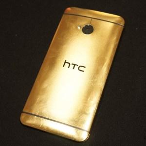 Découvrez le HTC One en version «Or»