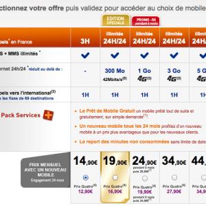 La Poste Mobile propose la 4G à partir de 24,99 euros sans engagement