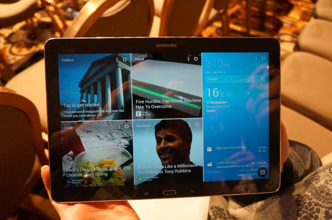 Le Galaxy Note Pro 12.2 à 749 euros, disponible en pré-vente !