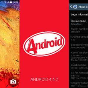 Galaxy Note 3 (SM-N900) : le modèle Exynos passe aussi à Android 4.4.2 KitKat