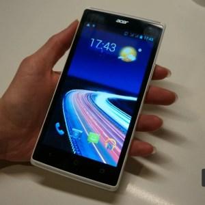 Acer : le Liquid Z5 Duo arrive à 149 euros avec ODR en France