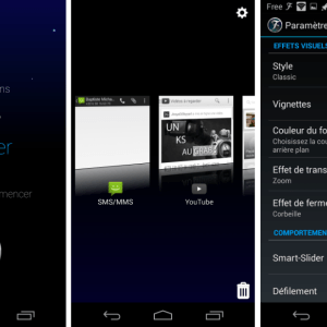 Fancy Switcher, un gestionnaire de tâches alternatif sur Android