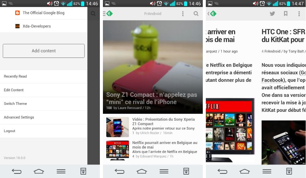 Feedly 18.0 : Essayez les nouveautés de la bêta sur Android !