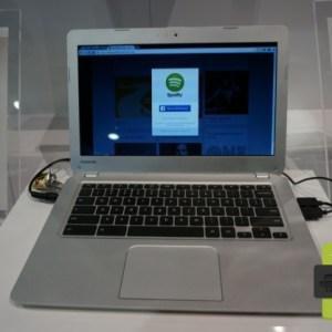 CES 2014 : Toshiba se lance dans l'aventure Chromebook (photos)