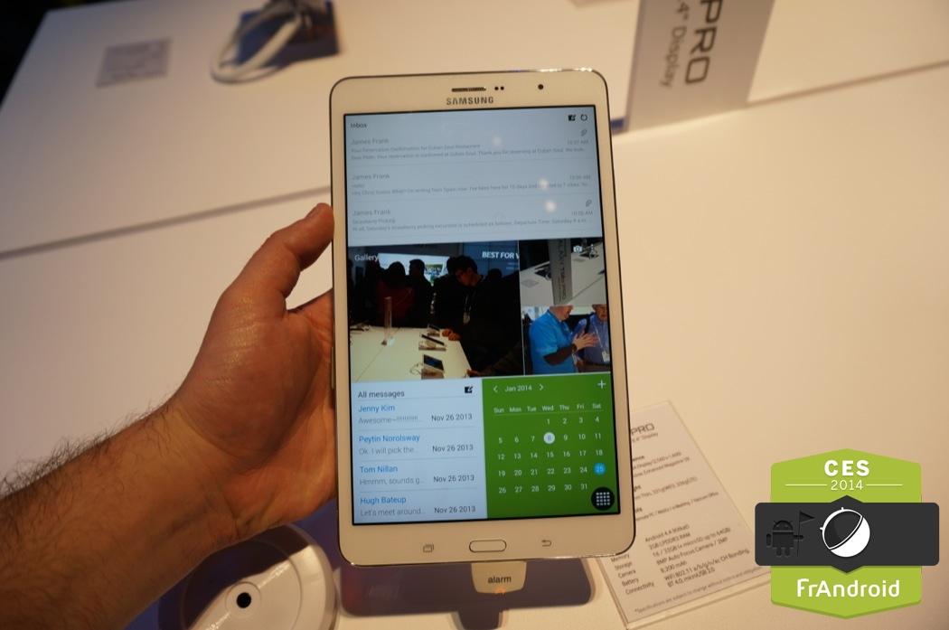 Prise en main des Samsung Galaxy Tab Pro et Note Pro, les tablettes Android dédiées aux professionnels
