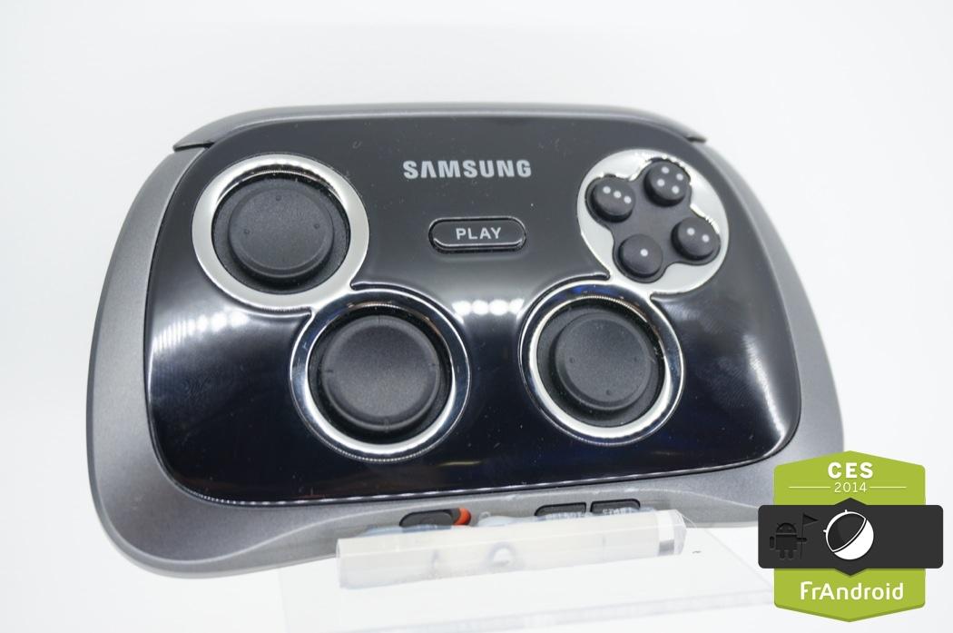 Prise en main Samsung Galaxy GamePad, la manette pour smartphones