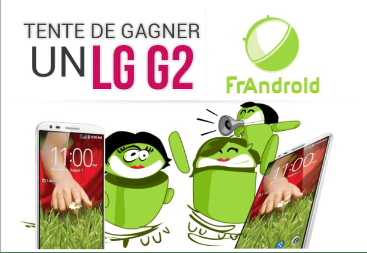 Concours : 4 LG G2 sont à gagner en partenariat avec LG !