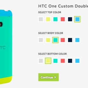 HTC crée son «MotoMaker» dédié au One : choisissez vos couleurs !