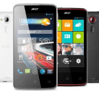 L'Acer Liquid Z4 Duo officialisé à moins de 100 euros