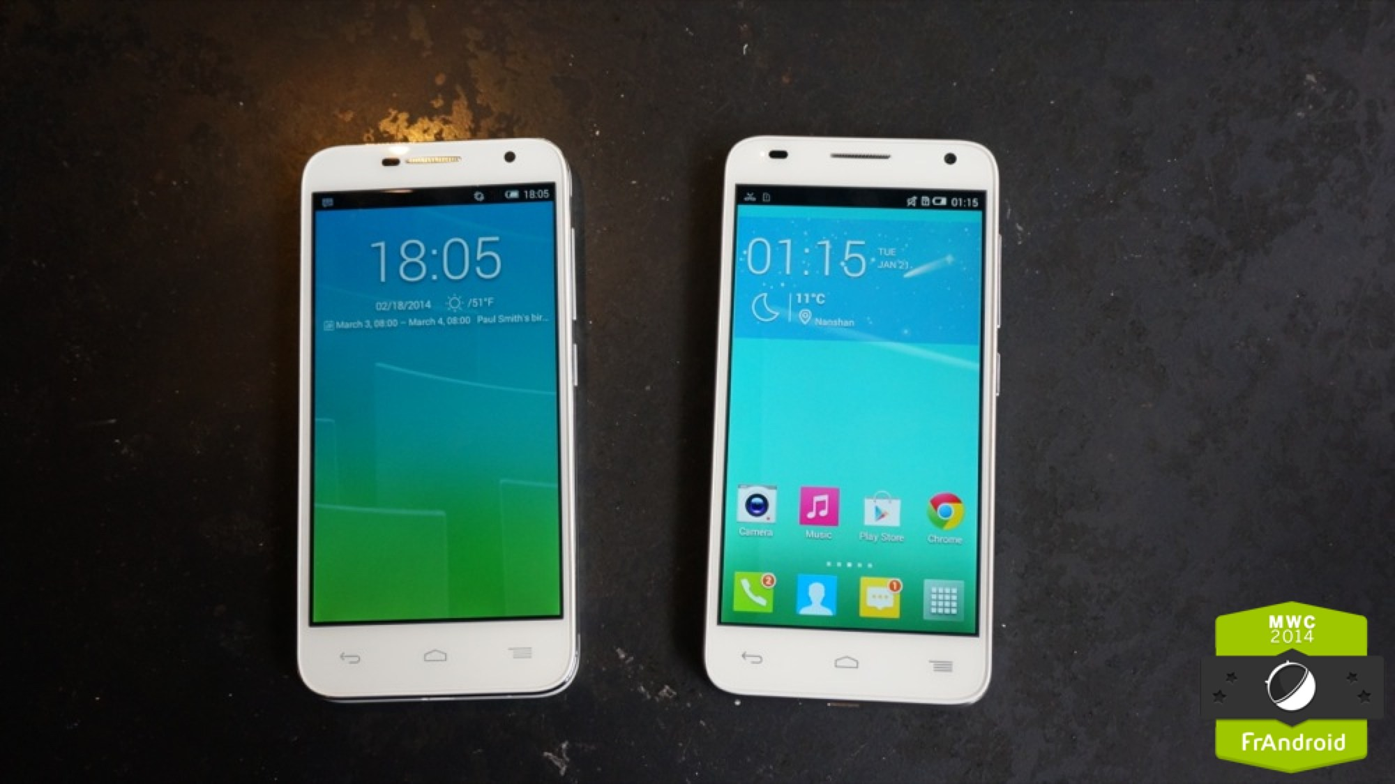 Prise en main des Alcatel One Touch Idol 2 mini et 2 mini S, de l'Android en 4,5 pouces