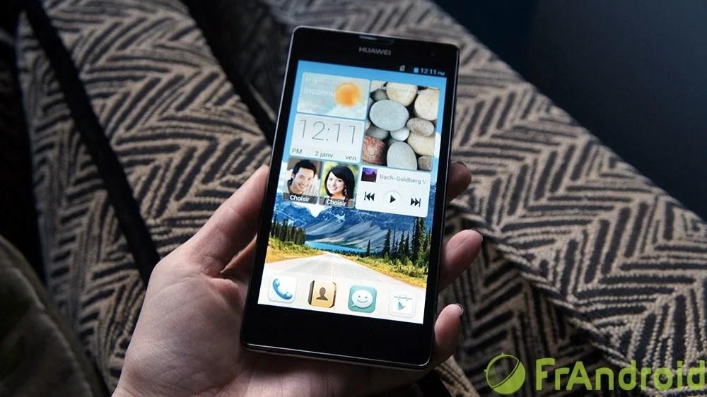 Huawei passe à l'offensive avec l'Ascend G740 pour de la 4G à moins de 200 euros