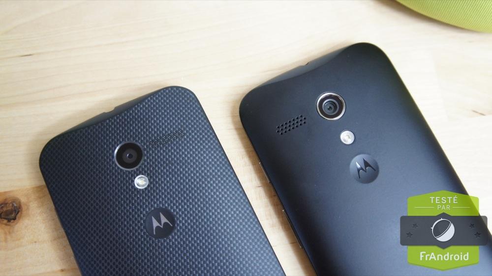 Motorola prévoit le support d'Android 5.0 pour les Moto G et Moto X