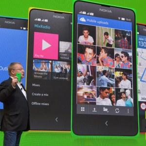 Les Nokia X, X+ et XL privés de Nokia X Platform 2.0