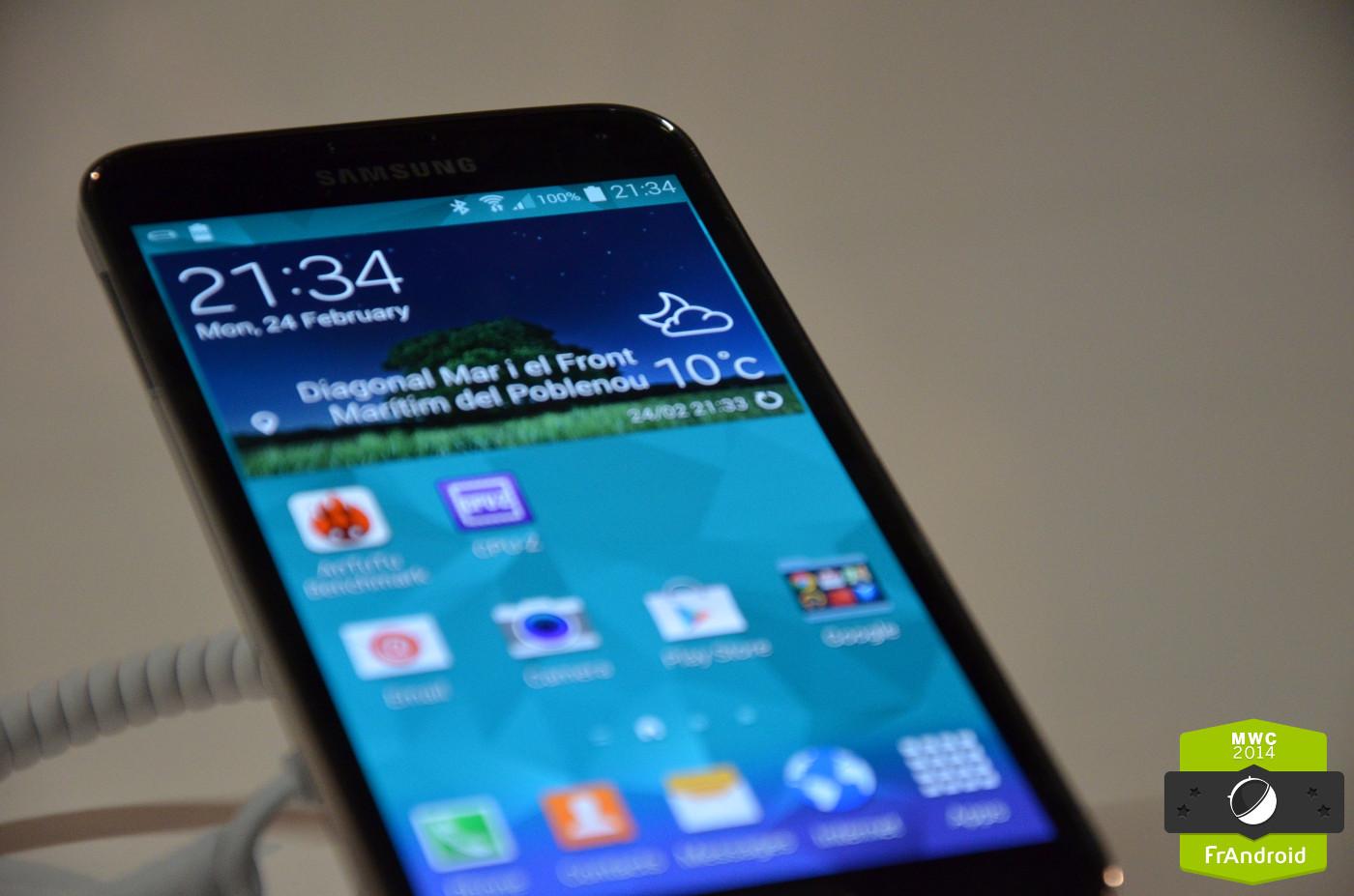 Le Samsung Galaxy S5 a-t-il le meilleur écran du moment ?