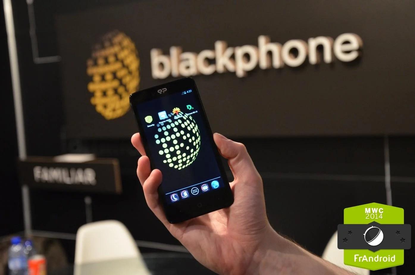 Le Blackphone en Europe pour moins de 600 euros