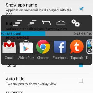 OmniROM accueille OmniSwitch : vos applications à portée de pouce