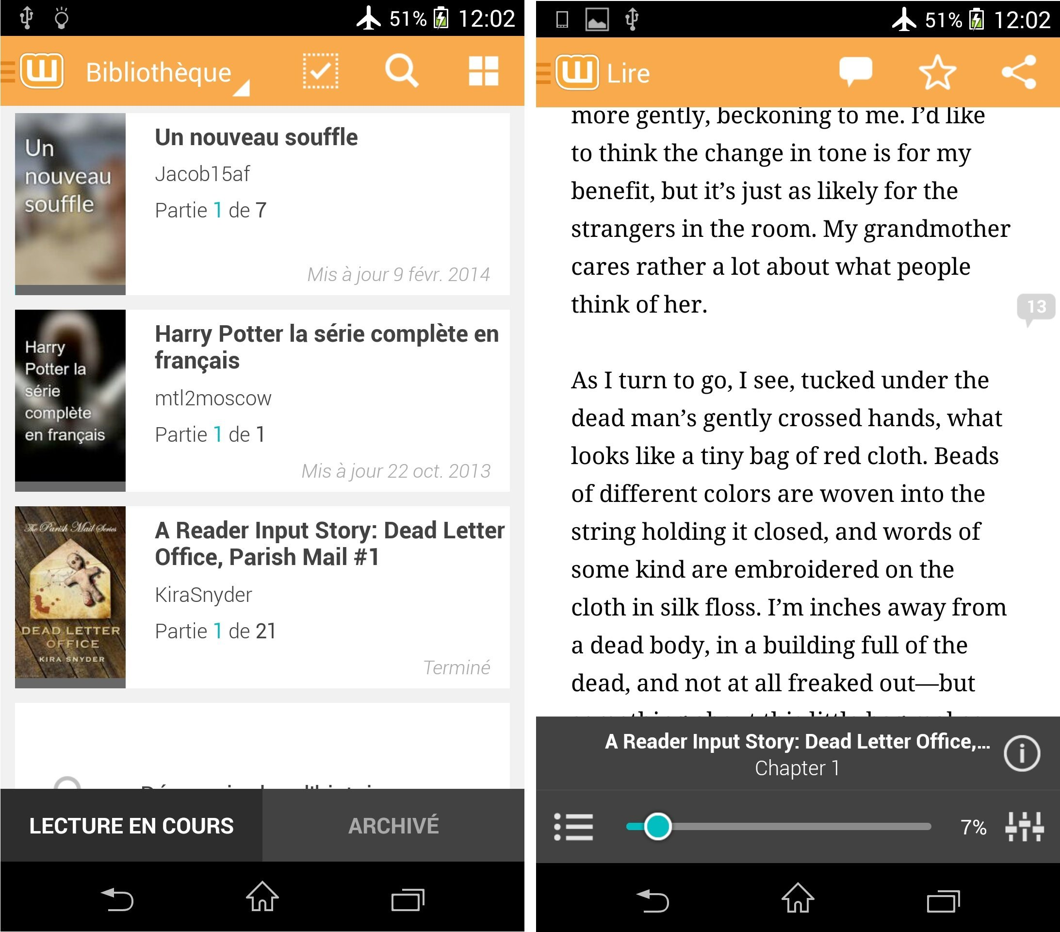 Wattpad : une mise à jour et toujours des millions d'eBooks gratuits