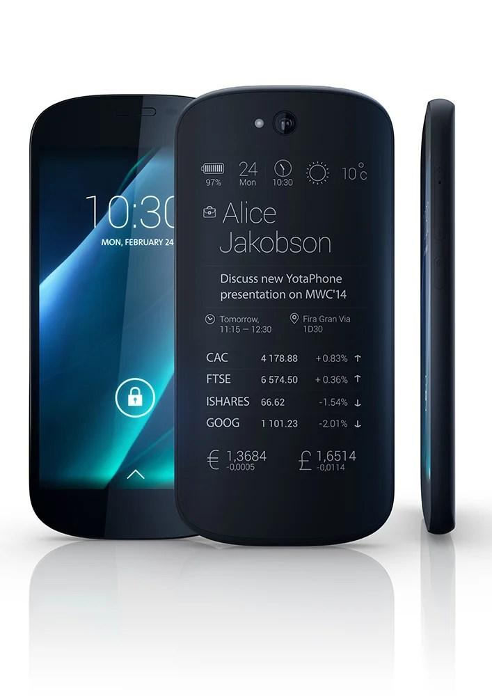 Le YotaPhone 2 sera présenté le 3 décembre, cette fois pour un lancement européen