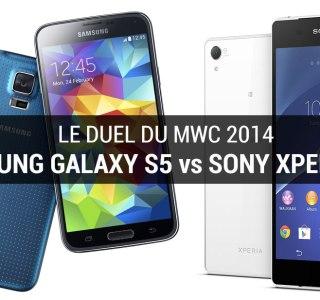 Sony Xperia Z2 vs Samsung Galaxy S5 : qui de vous deux ?