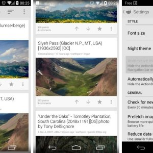 Reddit Sync Beta adopte le « mode immersif » sur Android